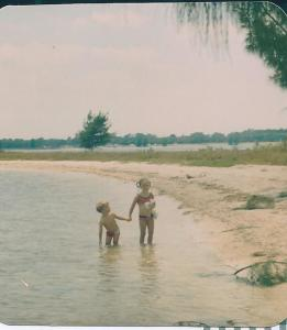 my brother & me, an afternoon on the water